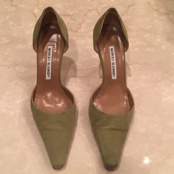 Manolo Blahnik Shoes - AUTHENTIC MANOLO BLAHNIK